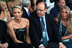 Charlene Wittstock and Prince Albert of Monaco
