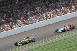 Takuma Sato, KV Racing Technology-Lotus and John Andretti, Richard Petty/Andretti Autosport
