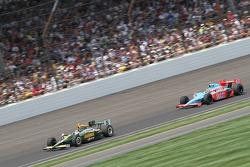Takuma Sato, KV Racing Technology-Lotus and John Andretti, Richard Petty/Andretti Autosport