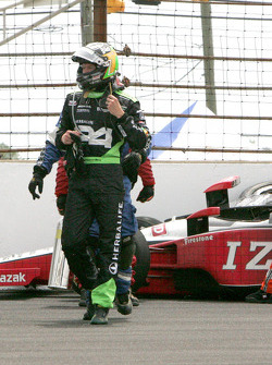 Townsend Bell, Sam Schmidt Motorsports after his crash