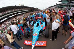 Car of John Andretti, Richard Petty / Andretti Autosport