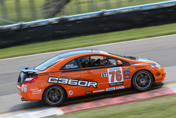 #76 Compass360 Racing Honda Civic Si: Daniel Rodgers, John Kuitwaard