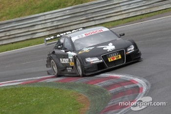 Rookie Eduardo Mortara stole the show on a wet Red Bull Ring