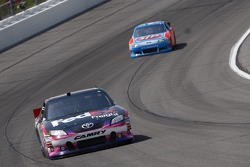 Denny Hamlin, Joe Gibbs Racing Toyota and A.J. Allmendinger, Richard Petty Motorsports Ford
