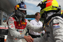 Martin Tomczyk, Audi Sport Team Phoenix Audi A4 DTM , Ralf Schumacher, Team HWA AMG Mercedes C-Klasse