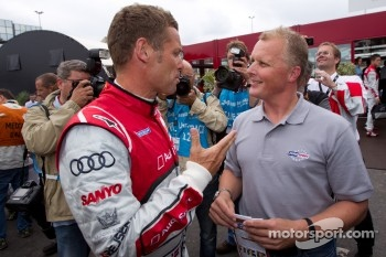 Tom Kristensen and Johnny Herbert