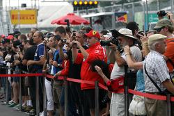 Canadian GP fans
