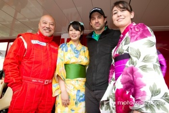 Yojiro Terada and Patrick Dempsey