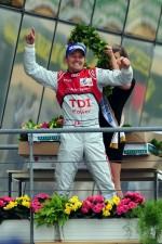 LMP1 podium: race winner Marcel Fssler
