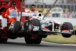 Car of Pedro de la Rosa, Sauber F1 Team