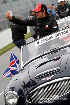 Jenson Button, the surprise winner of the Canadian GP