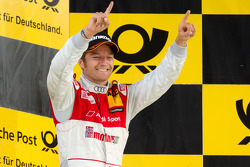 Podium: second place Timo Scheider, Audi Sport Team Abt