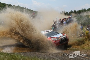 Petter Solberg and Chris Patterson, Citroen DS3 WRC, Petter Solberg Rallying
