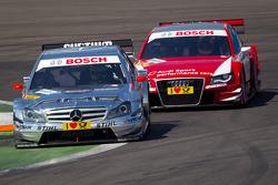 Jamie Green, Team HWA AMG Mercedes C-Klasse, Oliver Jarvis, Audi Sport Team Abt Sportsline Audi A4 DTM