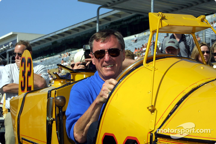 Two legends: Johnny Rutherford and the Marmon Wasp