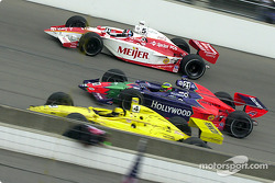 Sam Hornish Jr., Felipe Giaffone and Arie Luyendyk