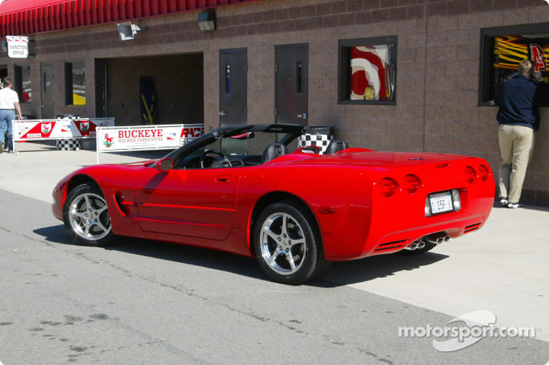 The official pace car for the 2002 Indy 500 (for the 13th time): Chevrolet Corvette