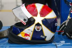 Eddie Cheever's helmet