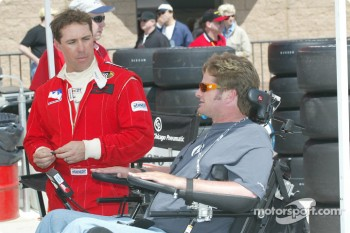Richie Hearn and Sam Schmidt