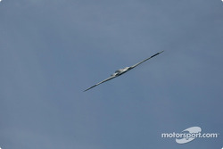 Stealth Bomber flyover