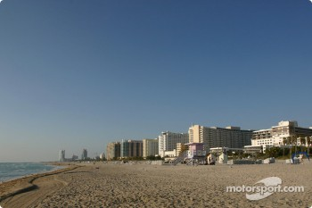 South Beach, Miami: looking south