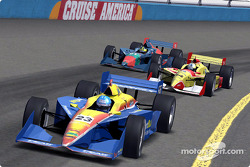 IndyCar series video game screenshots