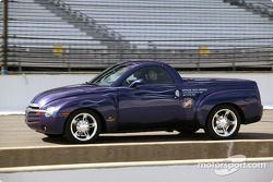 Chevy SSR Pace Vehicle at speed