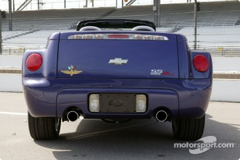 Rear view of Chevy SSR