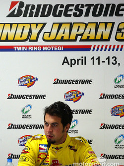 Press conference: Sam Hornish Jr.