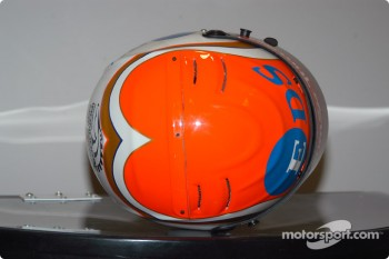 Greg Ray's helmet