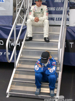 The high and low A.J. Foyt IV and Sarah Fisher