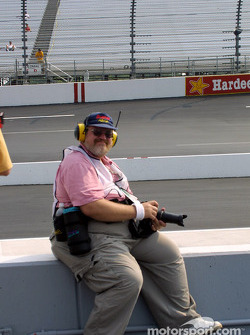 Motorsport.com's photojournalist Greg Gage