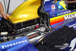 Chevrolet engine on Vitor Meira's car