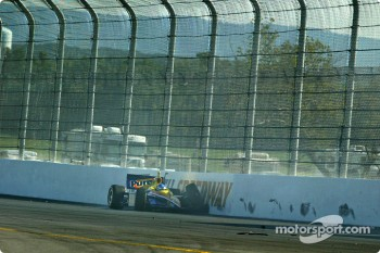 Sarah Fisher in the wall