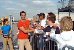 Max Papis signs autographs