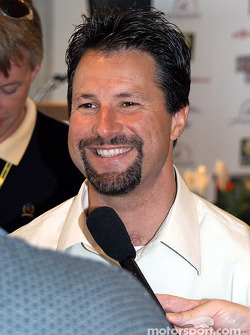 Andretti Foundation press conference on the donation to Butler University: Michael Andretti