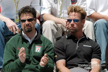 Michael Andretti and Greg Ray