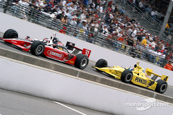 Al Unser Jr. and Sam Hornish Jr.