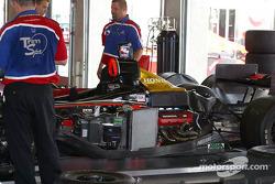 Access Motorsports garage area