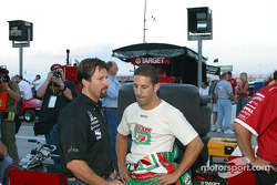 Michael Andretti and Tony Kanaan