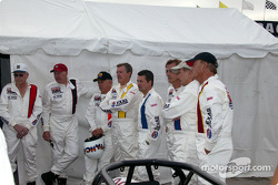 The Legends of Indy before the first practice session