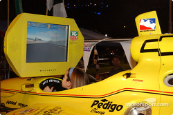 Indy Racing League simulator