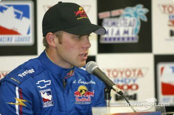 Press conference: Ed Carpenter