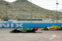 Adrian Fernandez and Tomas Scheckter