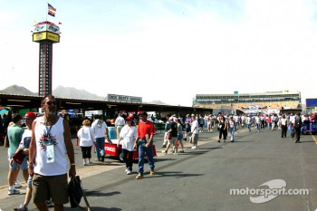 Fans at Phoenix International Raceway
