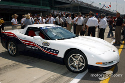 Chevrolet Corvette, 2004 Official Pace Car, at Indianapolis Motor Speedway during Opening Day of the 88th Indianapolis 500-Mile Race
