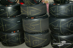 Indy 500 Firestone Firehawk tires