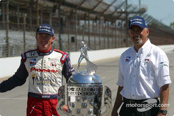 Buddy Rice and Bobby Rahal