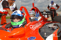 Indy Experience two-seater IndyCar: Dario Franchitti and a guest