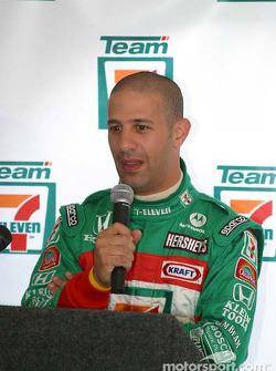 Andretti Green Racing press conference: Tony Kanaan
